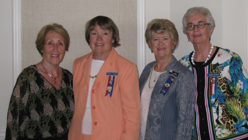 New Jersey ladies with National President